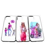 Чехол-накладка Glass Case Girls для Apple iPhone 11 Pro