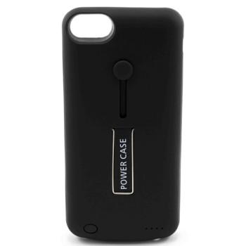 Чехол-батарея Power Case Back Clip Holder 3800mAh для Apple iPhone 6, iPhone 7, iPhone 8, Black