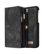Чехол-кошелек CaseMe Retro Leather для Apple iPhone 7 Plus / 8 Plus, Black