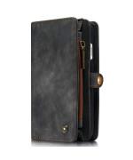Чохол-гаманець CaseMe Retro Leather для Apple iPhone 7 / 8, Black
