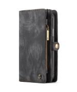 Чохол-гаманець CaseMe Retro Leather для Apple iPhone X / XS, Black