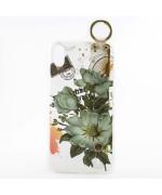 Силіконовий чохол накладка Epik Flowers для Apple Iphone X/XS