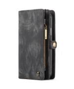 Чохол-гаманець CaseMe Retro Leather для Apple iPhone XR, Black