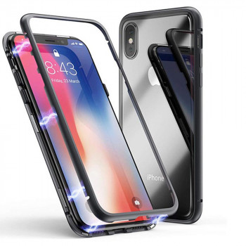 Накладка бампер магніт KUVETE AIR SKIN для Apple iPhone XS Max 6.5 Black