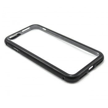 Накладка бампер магнит Metal Frame для Apple iPhone 7 / iPhone 8, Black
