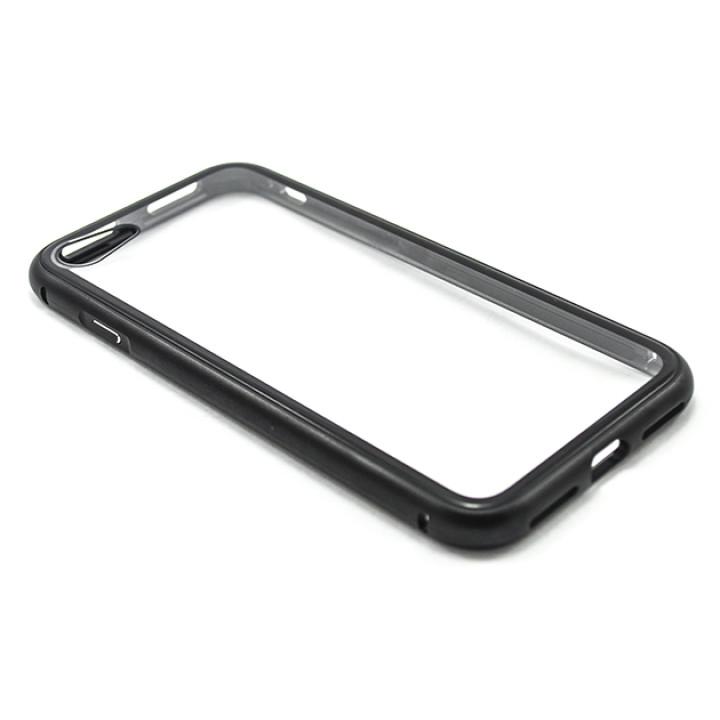 Накладка бампер магніт Metal Frame для Apple iPhone 7 / iPhone 8, Black