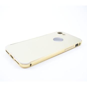 Металлический бампер Epik с акриловой вставкой с зеркальным покрытием для iPhone 7