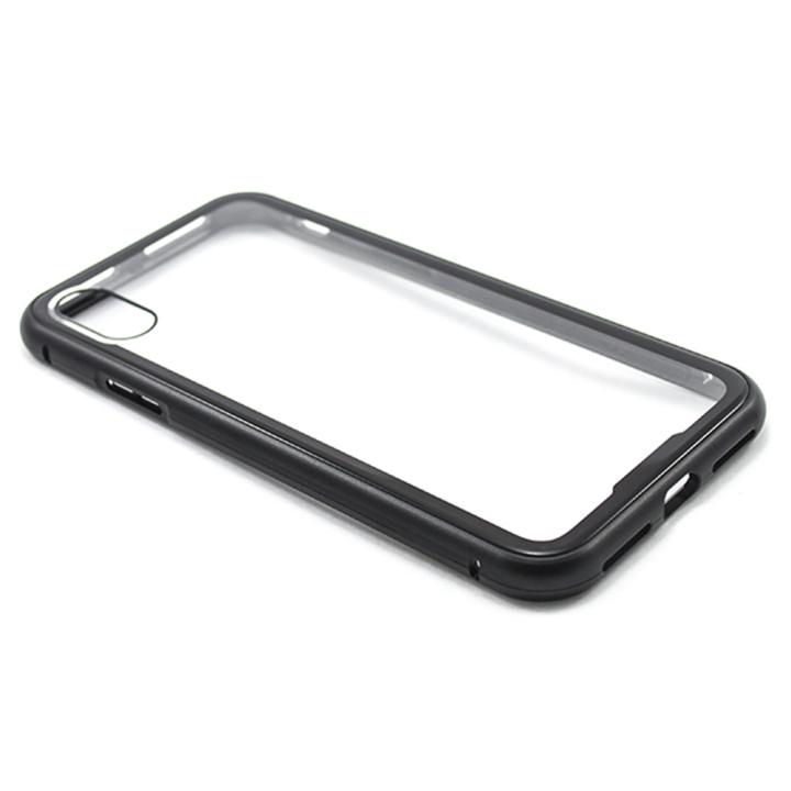 Накладка бампер магніт  Metal Frame для AppleiPhone X / XS, Black