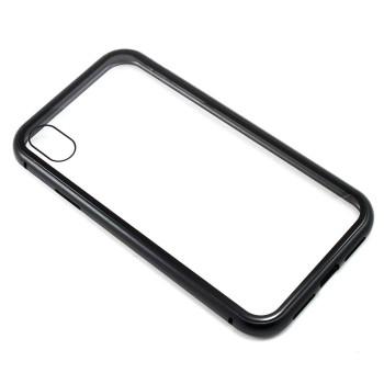 Накладка бампер магніт Bakeey Metal Frame для Apple iPhone XR, Black