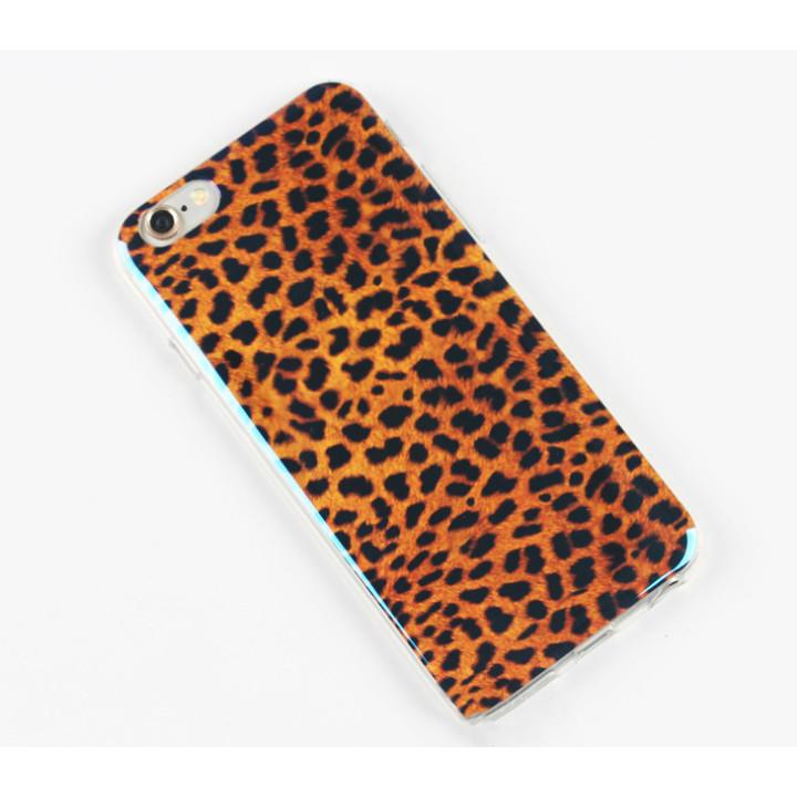 """Cиликоновый чехол для iPhone 6 """"Leopard"""""""
