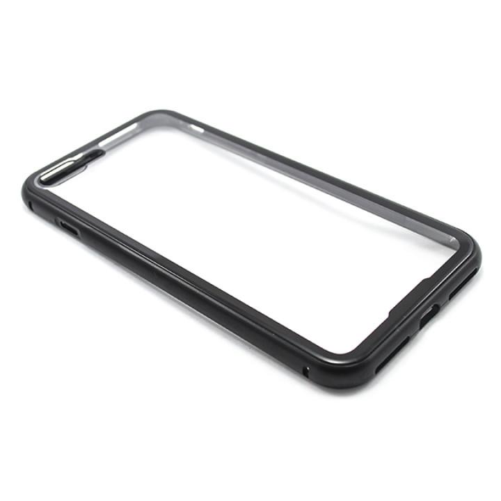 Накладка бампер магніт Metal Frame для Apple iPhone 7 plus / iPhone 8 plus, Black