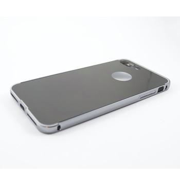 Металлический бампер Epik с акриловой вставкой с зеркальным покрытием для iPhone 7 Plus / iPhone 8 Plus