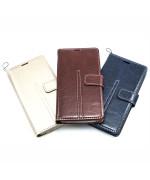 """Универсальный чехол-книжка Levol Leather для смартфонов 4.8 """"- 5.1"""""""