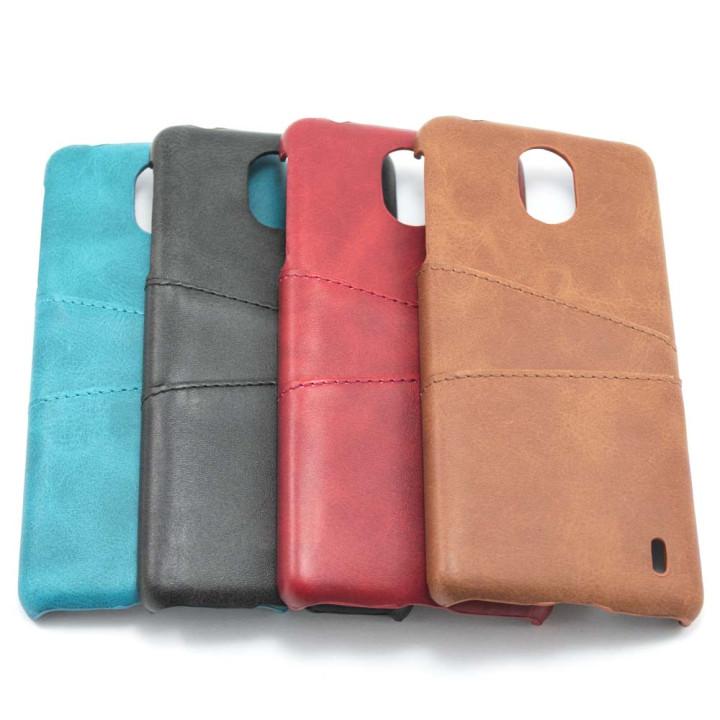 Кожаный чехол накладка Epik Pocket для Nokia 1 Plus