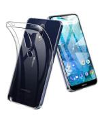 Прозорий силіконовий чохол Slim Premium для Nokia X6 / Nokia 6.1 Plus