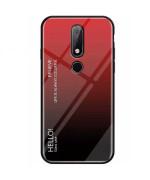 Чехол-накладка Gradient HELLO для Nokia 4.2