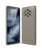 Чехол накладка Polished Carbon для Nokia 9 Pureview