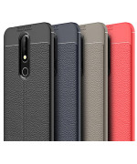 Чохол накладка Auto Focus для Nokia X6 (2018) ТПУ / Nokia 6.1  Plus