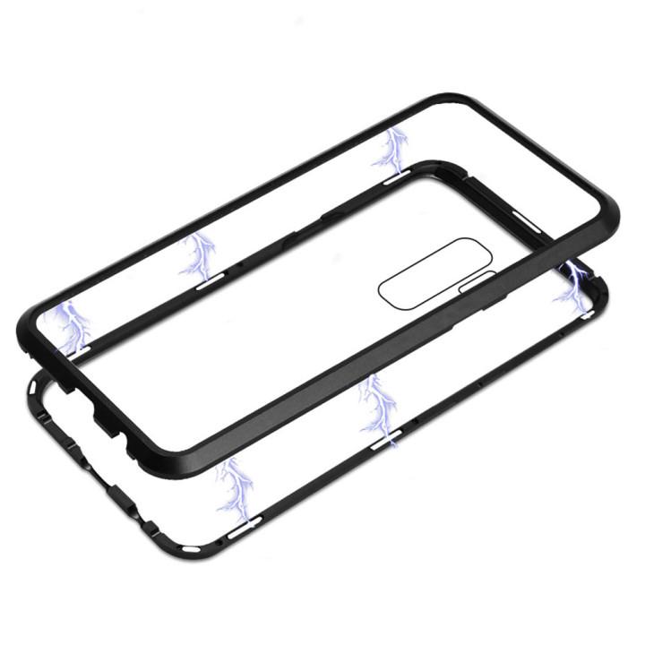 Накладка бампер магнит Metal Frame Samsung Galaxy S9 plus black