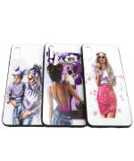 Чохол-накладка Glass Case Girls для Samsung Galaxy A30s
