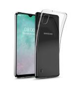 Прозорий силіконовий чохол-накладка Oucase для Samsung Galaxy A10 (A105)