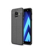Чехол накладка Auto Focus для Samsung Galaxy A6 2018 ТПУ