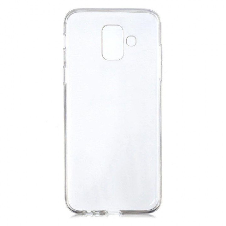 Прозрачный силиконовый чехол Slim Premium для Samsung Galaxy A6 2018