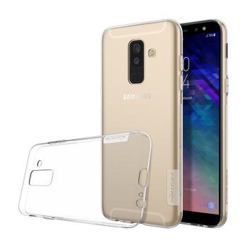 Прозорий силіконовий чохол Nillkin Nature TPU case для Samsung Galaxy A6 plus 2018