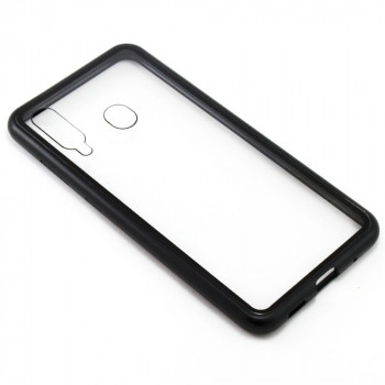 Накладка бампер магніт Bakeey Metal Frame для Samsung Galaxy M40 / A60, Black