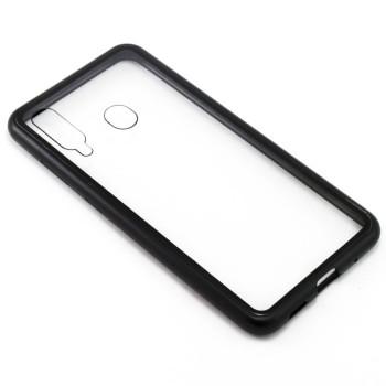 Накладка бампер магнит Bakeey Metal Frame для Samsung Galaxy M40 / A60, Black