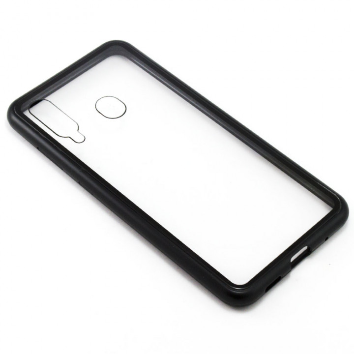 Накладка бампер магніт Bakeey Metal Frame для Samsung Galaxy M40 / A60, Black
