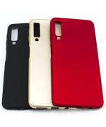 Силиконовый матовый чехол накладка ROCK для Samsung Galaxy A7 2018