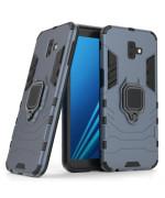 Чехол-накладка Ricco Black Panther Armor для Samsung Galaxy J6 Plus