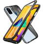 Накладка-бампер магнит Bakeey Metal Frame 360 ° для Samsung Galaxy M30s, Black