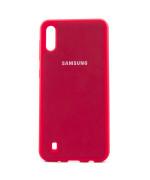 Чехол-накладка New Silicone Case для Samsung Galaxy M10 (M105)
