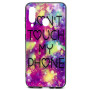 Чохол Glass Case Don't touch my phone для Samsung Galaxy M40 / A60