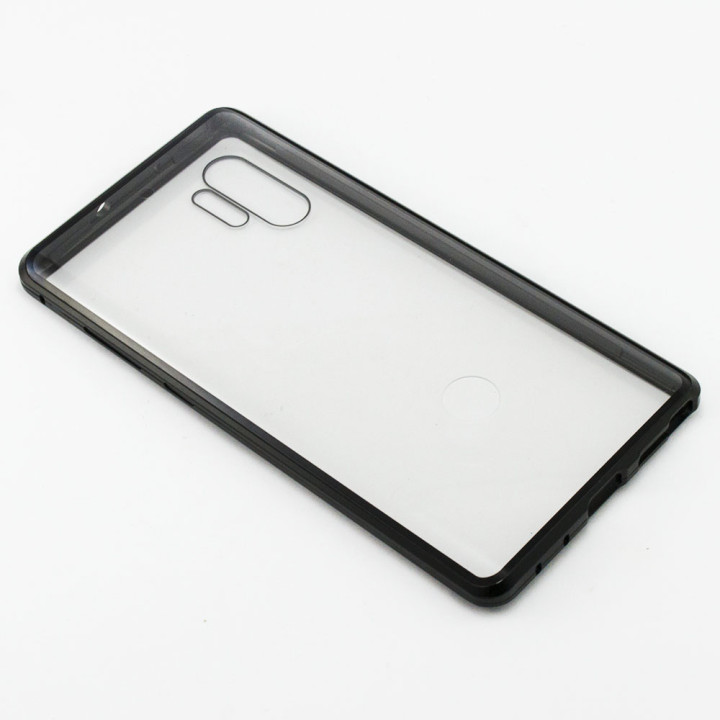 Накладка бампер магніт Bakeey Metal Frame 360° для Samsung Galaxy Note 10 Plus, Black
