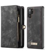 Чехол-кошелек CaseMe Retro Leather для Samsung Galaxy Note 10 Plus, Black