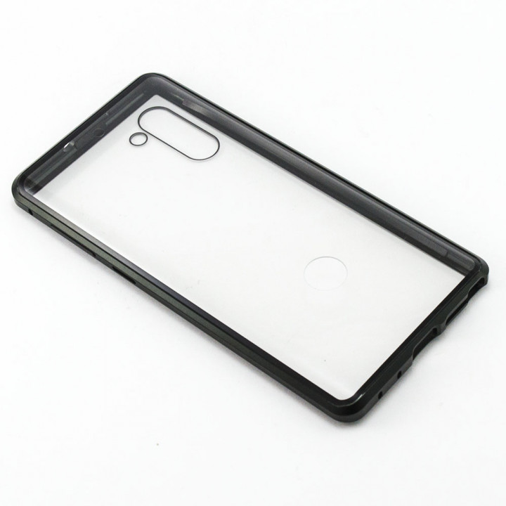 Накладка бампер магніт Bakeey Metal Frame 360° для Samsung Galaxy Note 10, Black