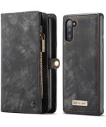 Чохол-гаманець CaseMe Retro Leather для Samsung Galaxy Note 10, Black