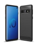 Чохол накладка Polished Carbon для Samsung Galaxy S10