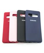 Чехол-накладка Silicone Case для Samsung Galaxy S10