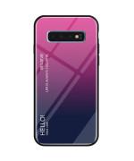 Чехол-накладка Gradient HELLO для Samsung Galaxy S10 Plus