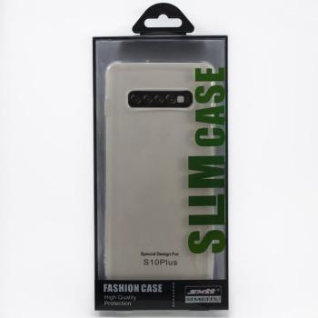 Защитный чехол SMTT Simeitu для Samsung Galaxy S10 Plus (ПРОЗРАЧНЫЙ)