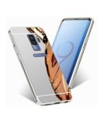 Металевий бампер Epik з акриловою вставкою з дзеркальним покриттям для Samsung Galaxy S9 Plus