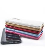 Силиконовый чехол накладка Fashion Case Glitter 3 in 1 для Samsung Galaxy S9 Plus