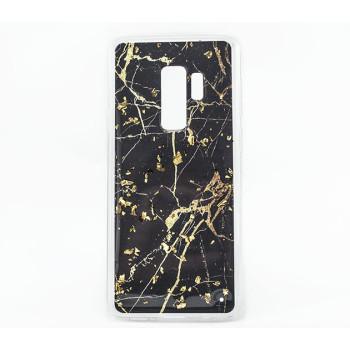 Мраморный силиконовый чехол накладка Marble для Samsung Galaxy S9 Plus