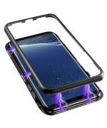 Накладка бампер магнит Metal Frame Samsung Galaxy S8 Black