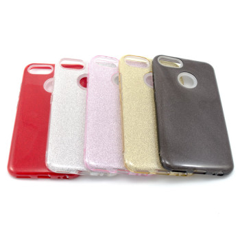 Силиконовый чехол накладка Fashion Case Glitter 3 in 1 для Xiaomi Mi 5X/A1