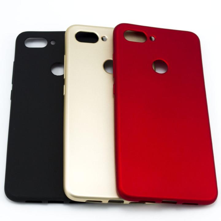 Силиконовый матовый чехол накладка ROCK для Xiaomi Mi 8 Lite